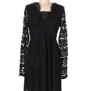 NWT Liza Luxe Modcloth Black Lace Dress XXL